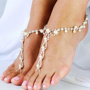 Jewelry - Great Quality Anklets With Rhinestones and Beads